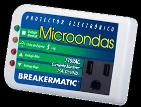 PROTECTOR PARA MICROONDAS, LAVADORAS Y OTROS,110V MIC-150